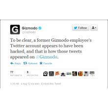 Gizmodo'nun Twitter hesabı nasıl hack'lendi?