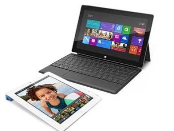 Windows RT kullanan tabletlerde akşam pazarı!