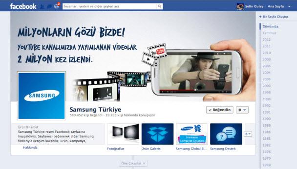 Samsung Türkiye'den YouTube rekoru