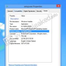 Windows 8'in yeni bir yapısı daha göründü