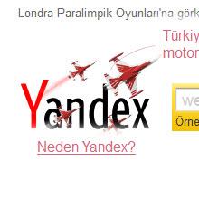 iPad için Yandex arama uygulaması