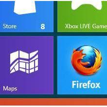 Firefox'un Metro sürümünün sekmeleri ve fazlası