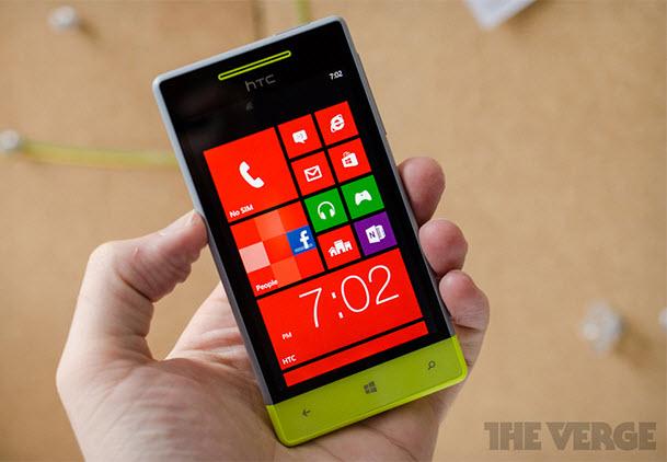 HTC'den orta seviye bir cep: Windows Phone 8S