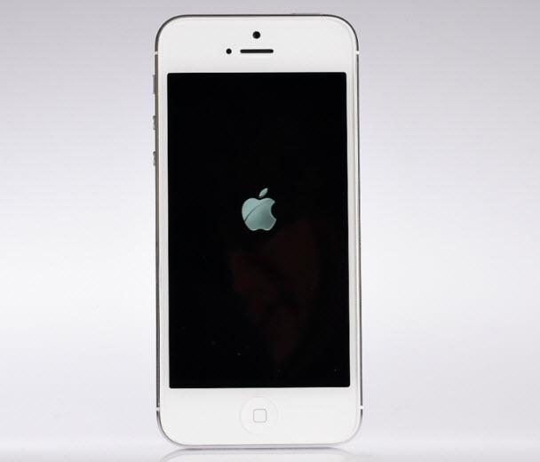 Ve iPhone 5'i çalıştırdık