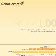 RoboHornet hız testini Chrome değil IE10 kazandı