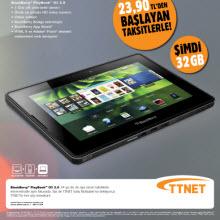BlackBerry PlayBook OS 2.0 TTNet'te