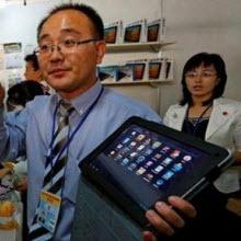 Sonunda onlar da tablet yapıyor!