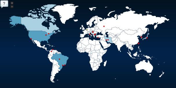 Siber Saldırıları Canlı İzle