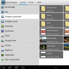 Tek noktadan bulut kontrolü iOS ve Android'te