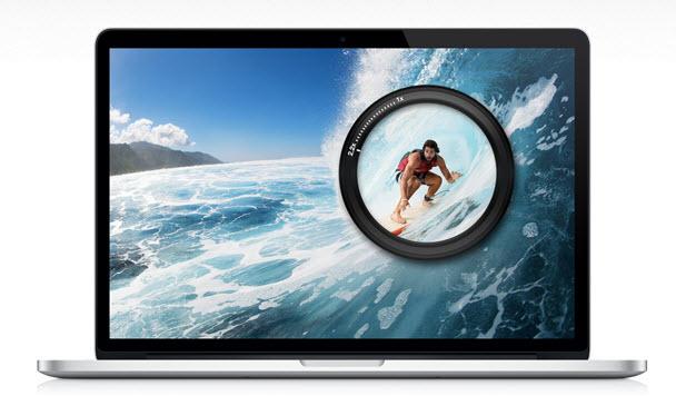 13 inç'lik Retina ekranlı MacBook Pro
