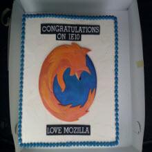 IE 10'a, Firefox'lu kutlama!