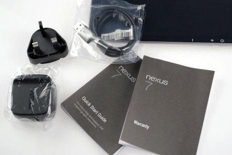 Nexus 7'nin detayları
