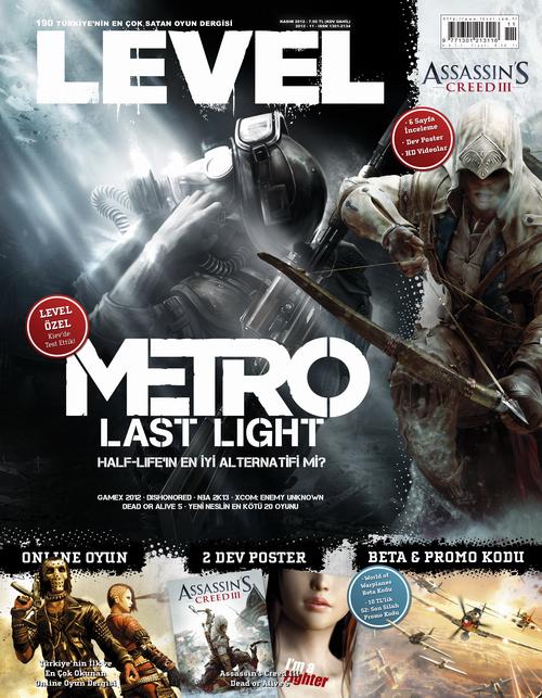 LEVEL'ın Kasım sayısı çıktı!