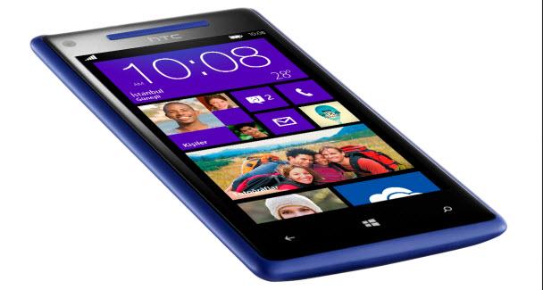 Windows Phone 8X'in teknik özellikleri
