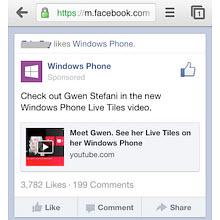"""Facebook'dan mobile özel yeni """"paylaş"""" düğmesi"""