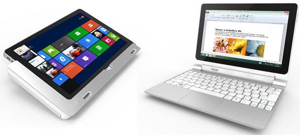 Acer Iconia W700 Windows 8 tablet'in özellikleri