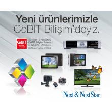 Next&Nextstar yepyeni ürünleriyle CeBIT'te