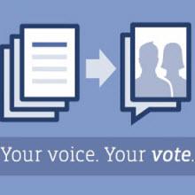 Facebook, oylamayı oylamaya sundu