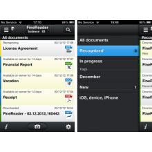 FineReader Touch OCR uygulaması iPhone'da!