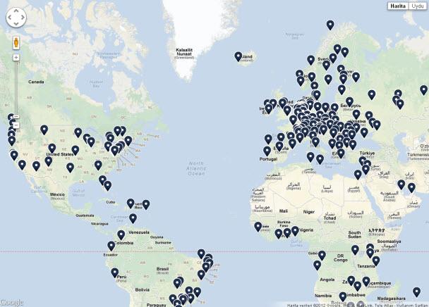 Tüm internetin haritası Google Maps üzerinde! - CHIP Online