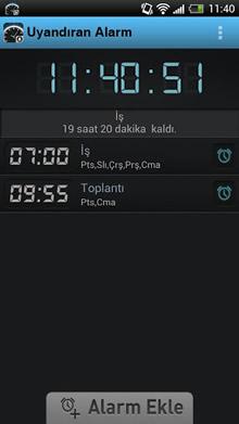 Uyandıran Alarm