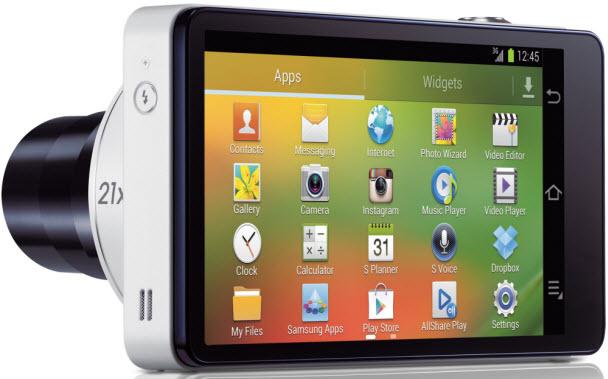 Samsung Galaxy Camera'nın özellikleri