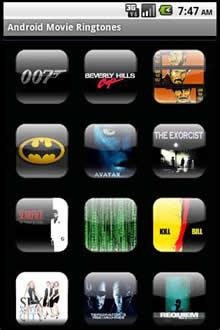 Android Movie Ringtones