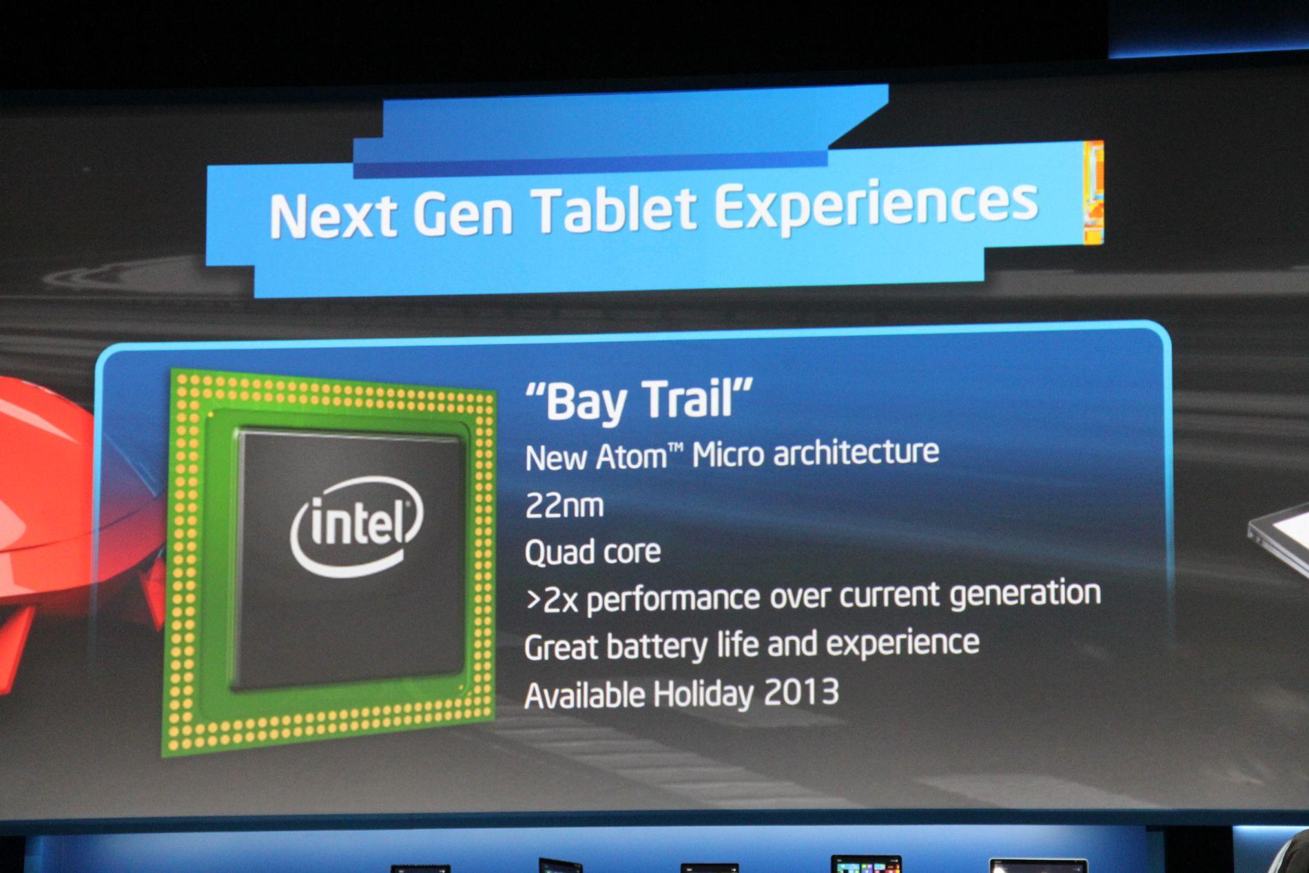 CES'te yeni Intel işlemcileri