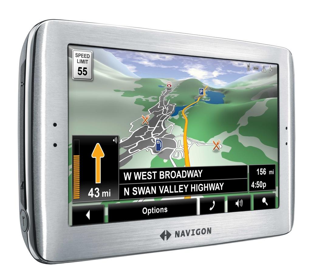 Cihaz, harita sağlayıcı ve harita programı