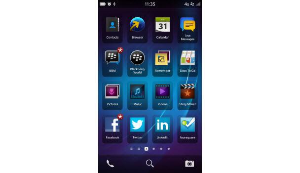 BlackBerry OS 10 neler sunuyor?