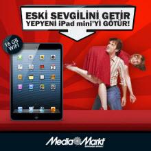 Eski sevgilini getir, yeni iPad Mini'yi götür!