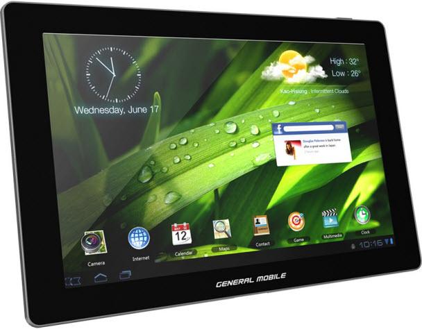 General Mobile e-Tab 4G Avea'da - Tasarımıyla beğeni toplayan bu tablet, uygun fırsatlarla Avea'da satışa sunuldu!