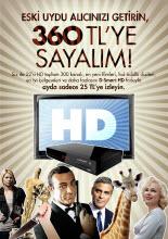 """D-Smart'tan """"HD Değiştir"""" fırsatı!"""