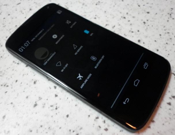 Kullanım ve yeni Android 4.2