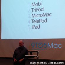"iPhone'un ismi, ""Mobi"" de olabilirdi!"
