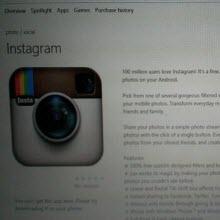 Instagram Windows Phone'a mı geliyor?