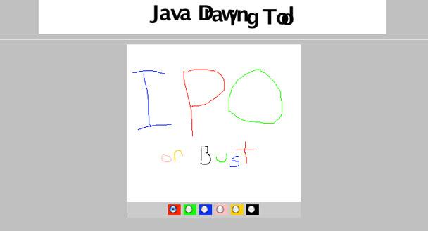 Java çizim aracı