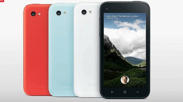 HTC'den Facebook tabanlı yeni bir telefon: First
