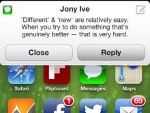 """iOS7: """"Herkesin hoşuna gidecek"""""""