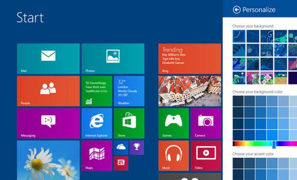 PC ayarları, Internet Explorer ve fazlası!