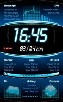 Galaxy S4 Device Info LWP
