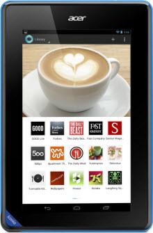 Acer Iconia B1 tablet Türkiye'de!