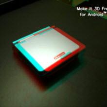 Android'li cebinizle 3D fotoğraflar çekin!