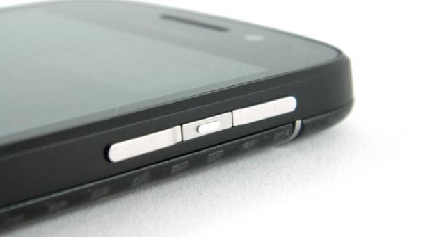 BlackBerry Q10'un gövdesi