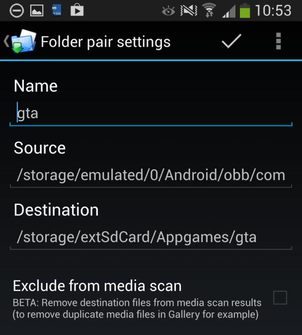 Uygulamaları microSD karta taşıma