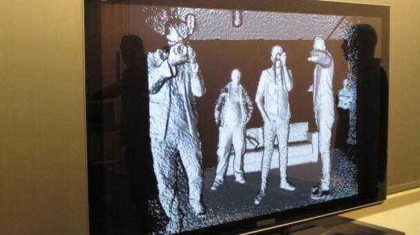 Kinect'in Kızılötesi (IR) özelliği