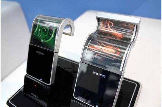 Bir sonraki dokunmatik yeniliği: esnek ekranlar