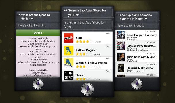 Ek Siri komutları ve otomatik güncellemeler