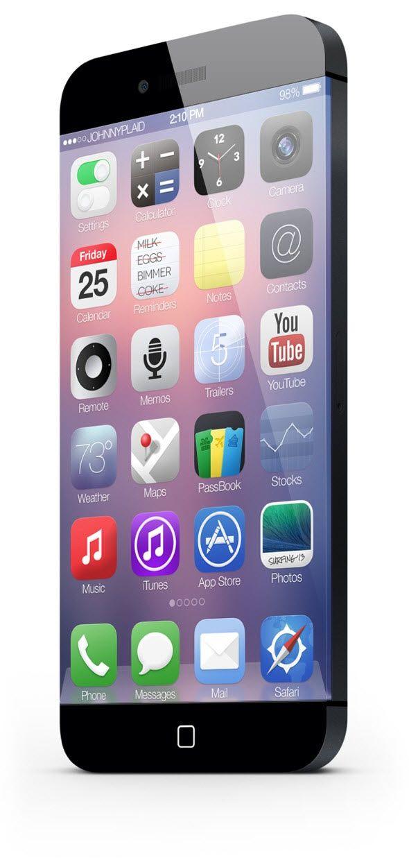 iPhone 6 konseptinden kareler - II