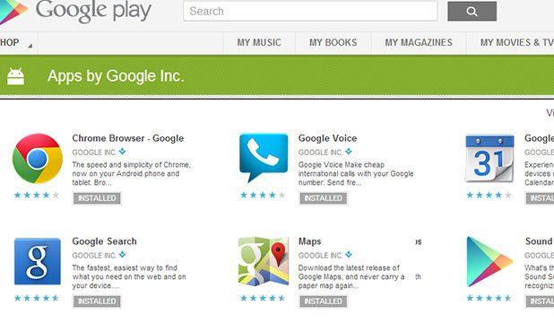 Klavyeyi değiştirin, Google uygulamalarını indirin